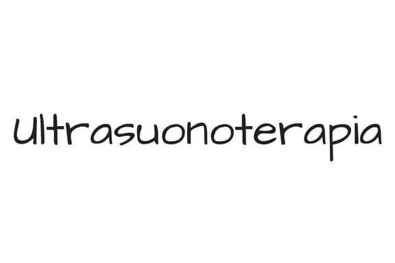 ultrasuonoterapia